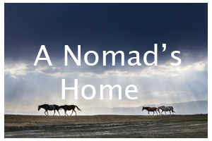 A nomad's home