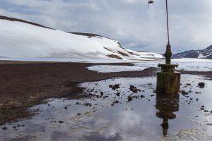 Shower time, Iceland