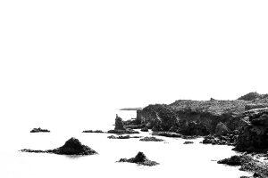 Rocky sea, Iceland